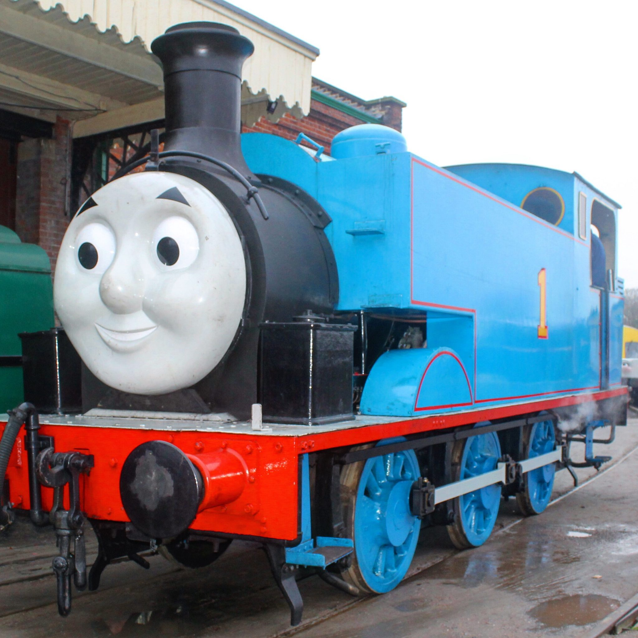 A Day out with Thomas at East Anglian Railway